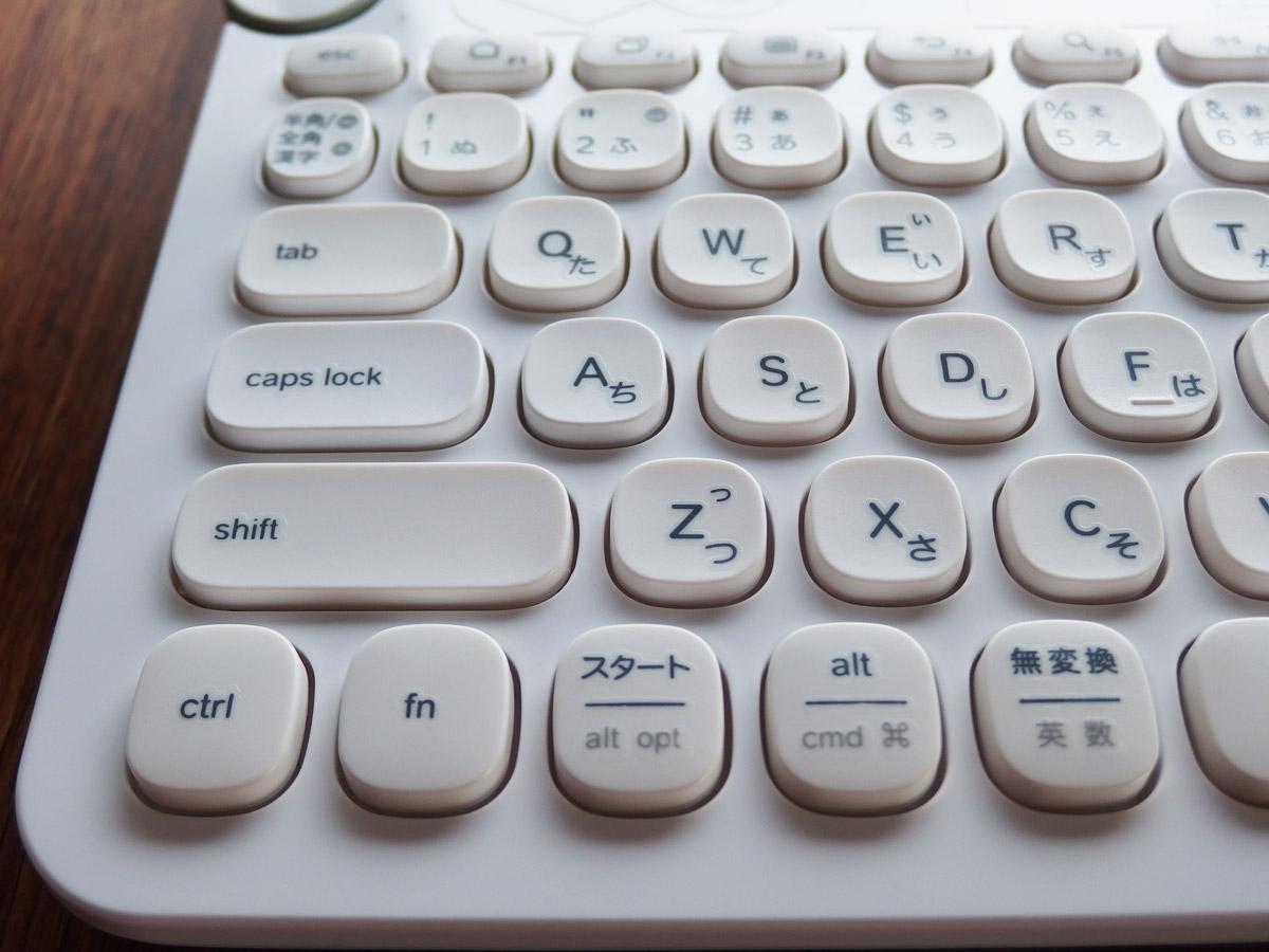 k480 キーボード 左側