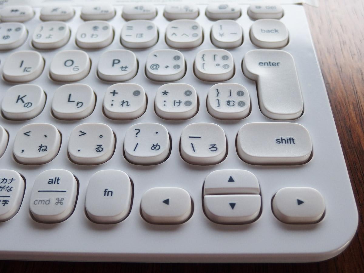 k480 キーボード 右側