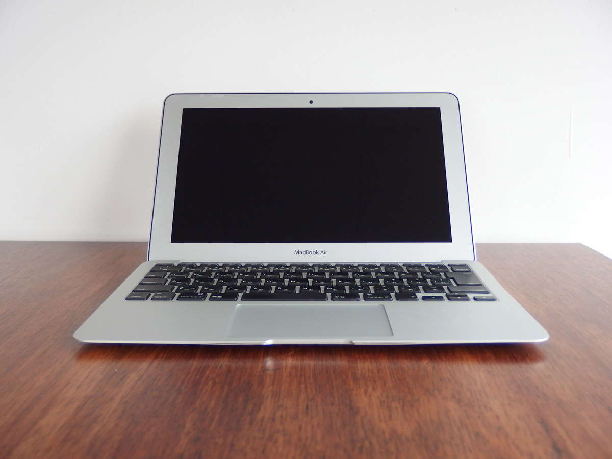 macbook air 全体像
