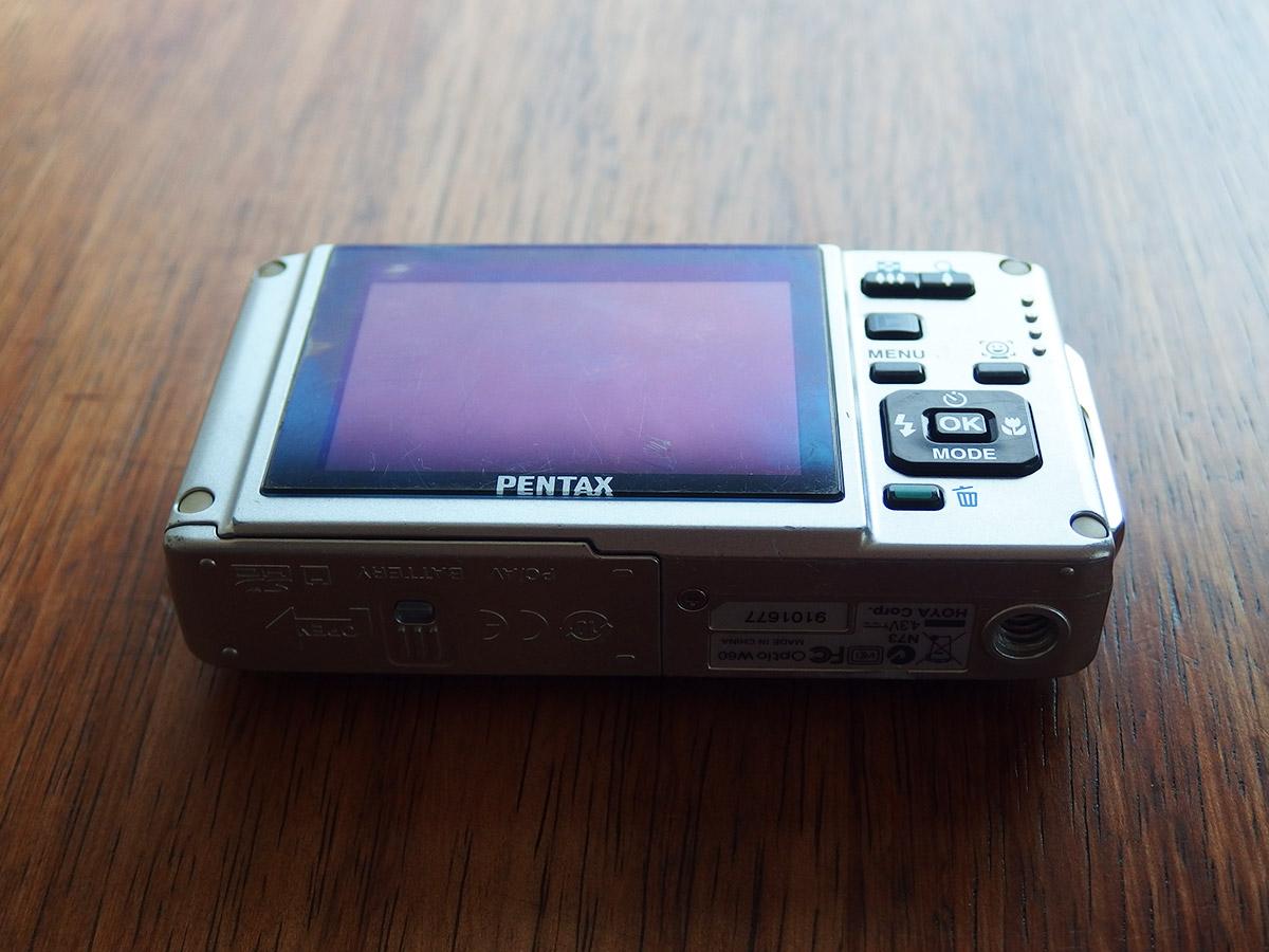 pentax w60 液晶面