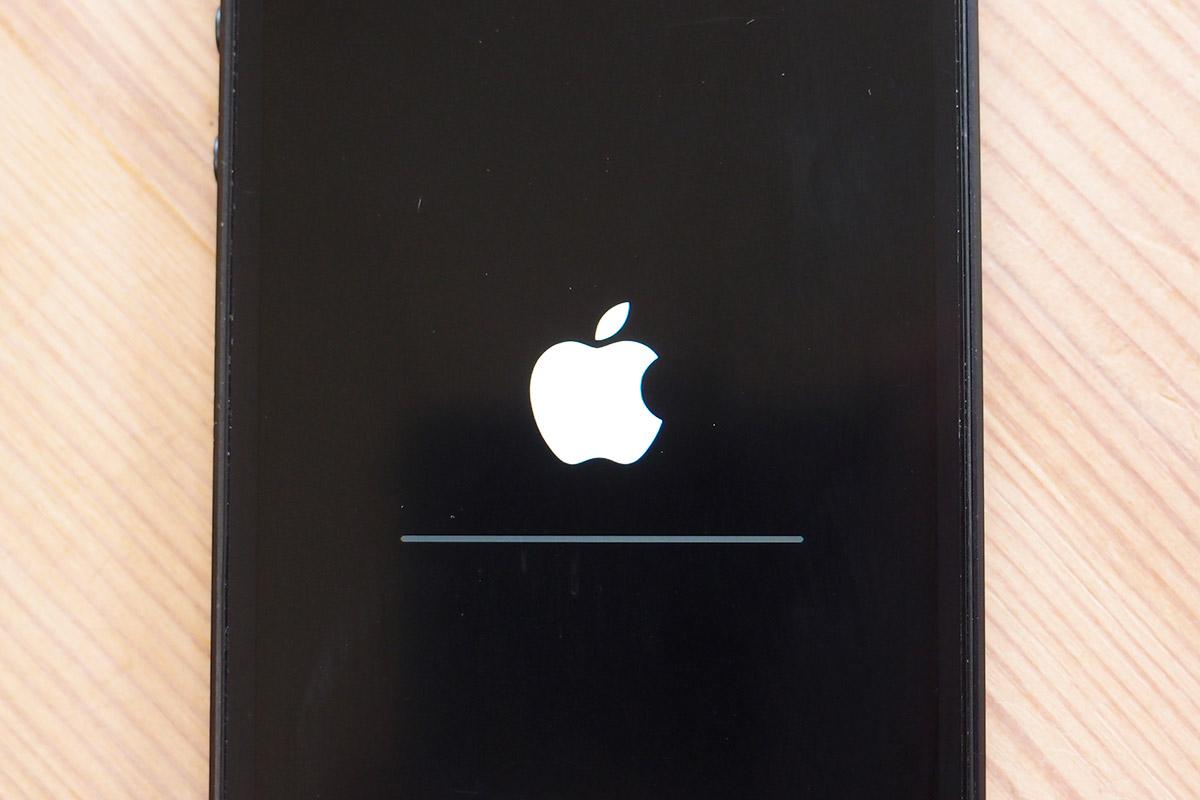 iPhoneの復元画面