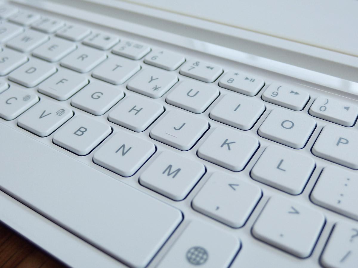 logicoolキーボードi5のキー拡大