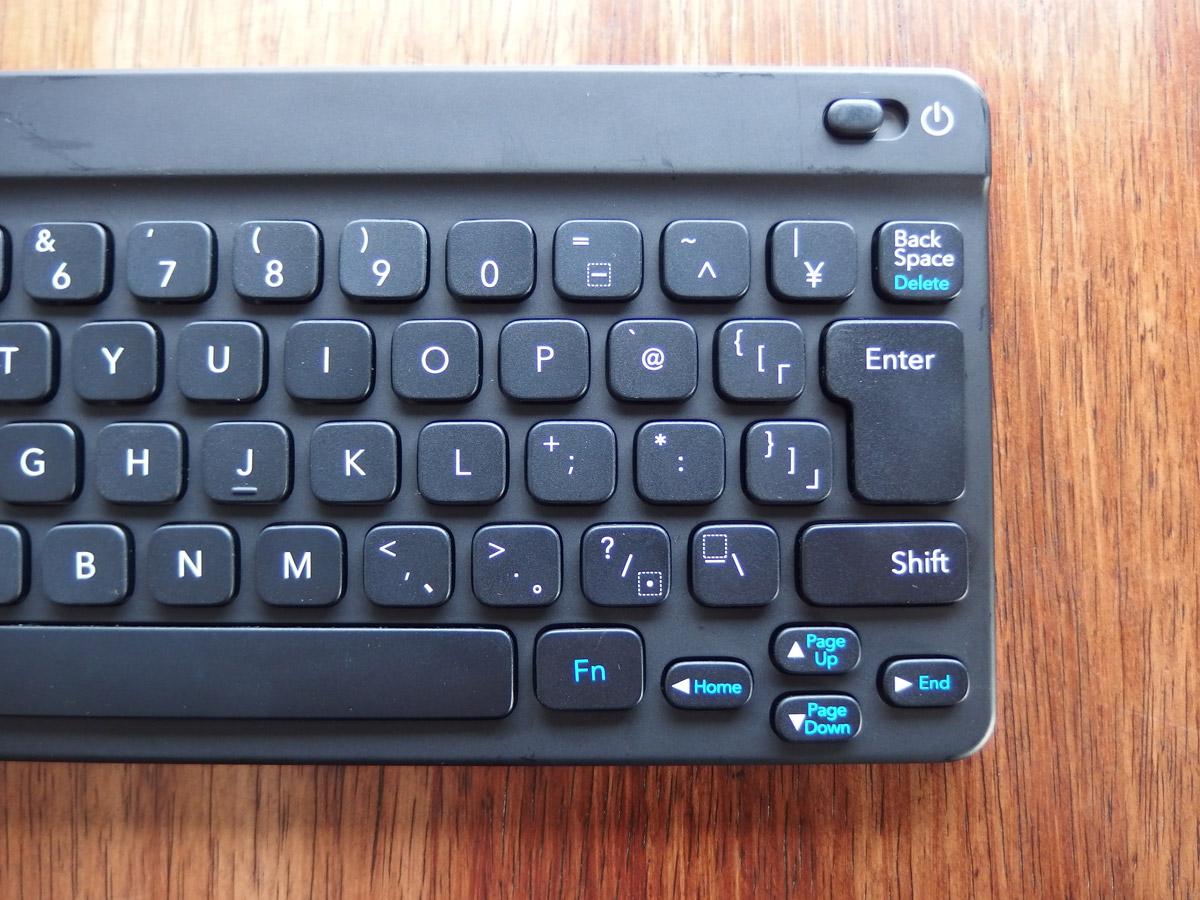任天堂ポケモンキーボード 右側