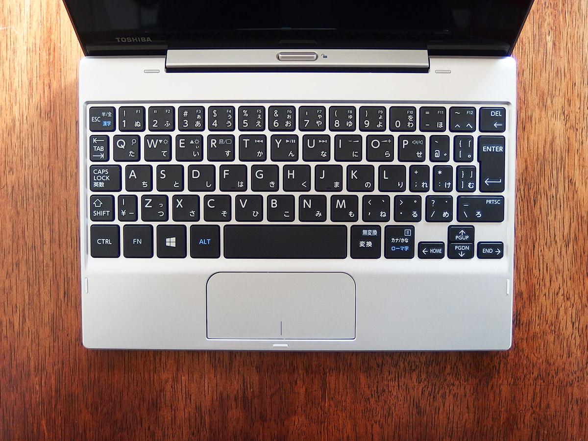 dynabookタブレットs29のキーボードレイアウト